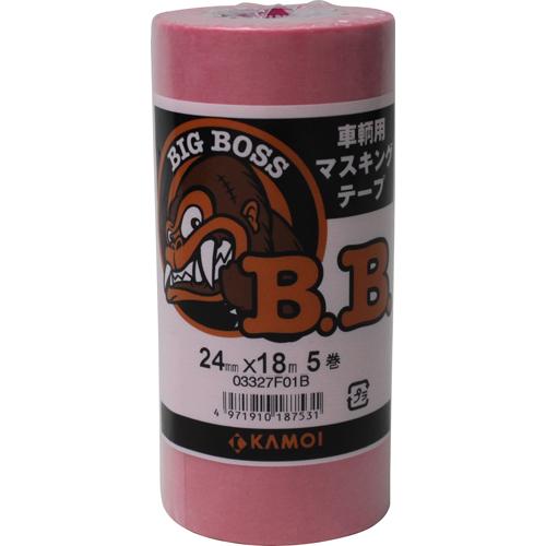 【取扱終了】BIG BOSS マスキングテープ 幅15mm×18m