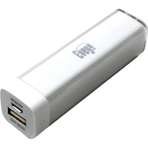 iPhone5 充電コネクター付 2200mAhポータブルモバイルバッテリー