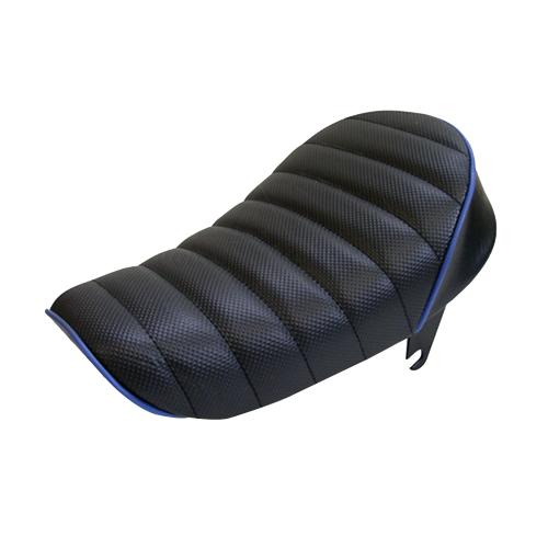 タックロールシート ブラック/ブルーパイピング