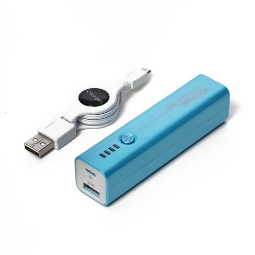 iCharger 2600mAh リチウムポリマーモバイルバッテリー ブルー