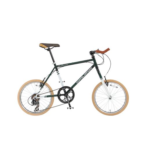 【直送】20インチ折りたたみ自転車 グリーン