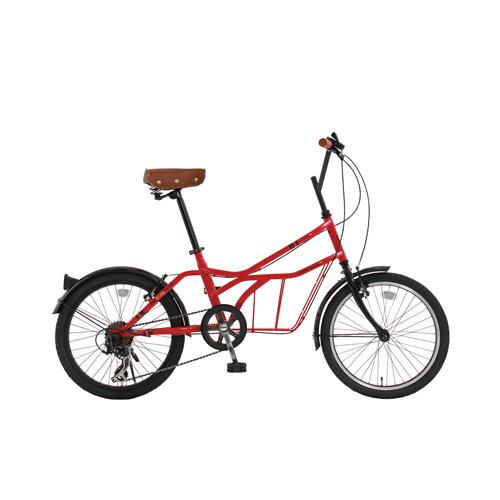 【直送】20インチ 自転車 レッド(ロッソ・ヴィーノ)
