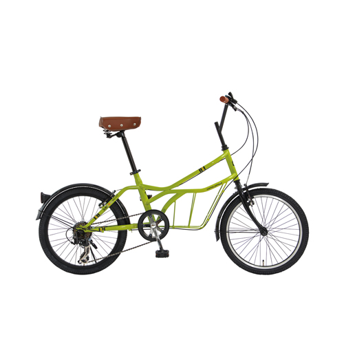 【直送】20インチ 自転車 グリーン(クレーヴェン)