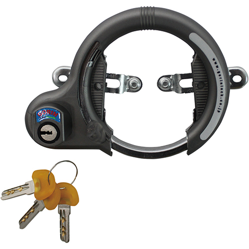 NGR-620 リング錠 シリンダー式 グレー