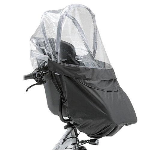 前幼児座席用レインカバー RCH-005 ブラック
