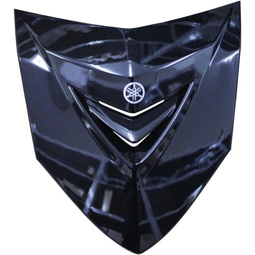 フロントカバー ブラック 4C9-XF834-10-P0