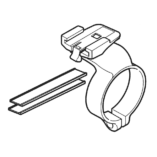 169-6667 CC-MC100W/CC-VT100W用ブラケット(センター取付) ブラック