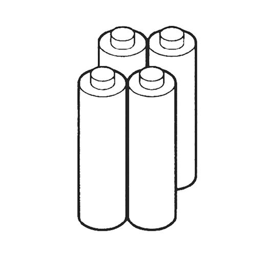 534-1891 HL-EL540専用ニッケル水素充電池 4本セット