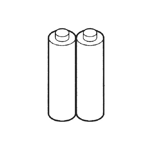 534-1890 HL-EL340専用ニッケル水素充電池 2本セット