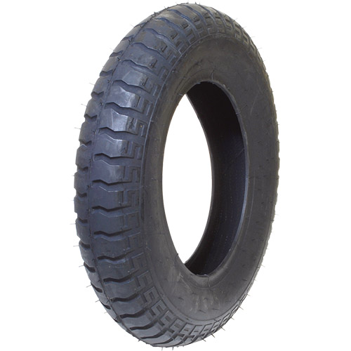 SR182 作業用一輪車タイヤ 3.25-8 WO ブラック