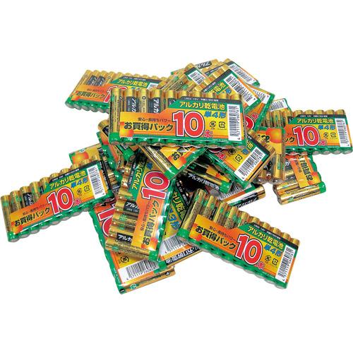 単3アルカリ電池 10本パック