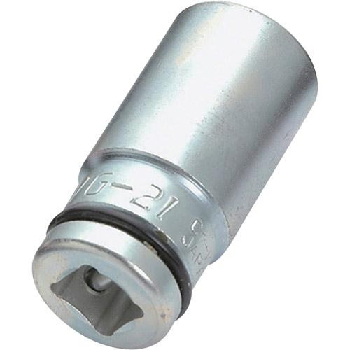 セミロングインパクトソケット 4WG-21 1/2 21mm