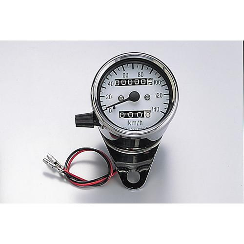 HM3202T-01 ミニスピードメーター トリップ付 ステンレスポリッシュ