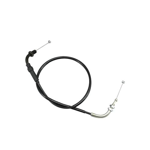 HB6025-10 ロング スロットルケーブル ブラック