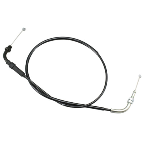 HB6207-10 ロング スロットルケーブル ブラック