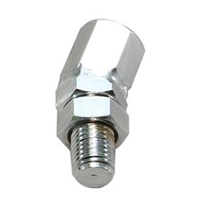 HA6284C 角度アダプター クロームメッキ