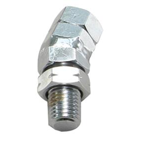 HA6285C 角度アダプター クロームメッキ