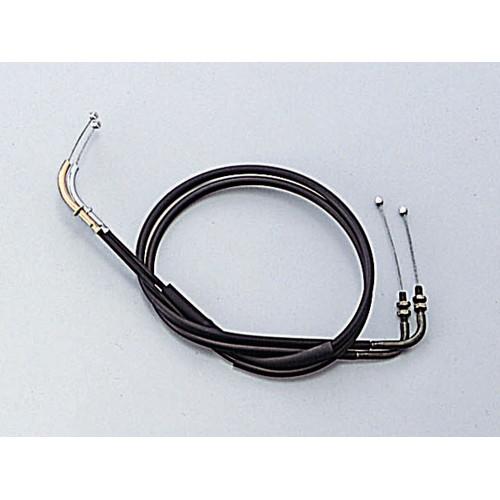 HB6507 ロング スロットルケーブル W ブラック