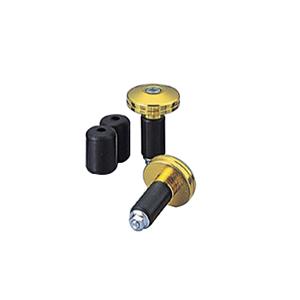 HB0340G φ30アルミサイドキャップ オフロードタイプ ゴールドアルマイト