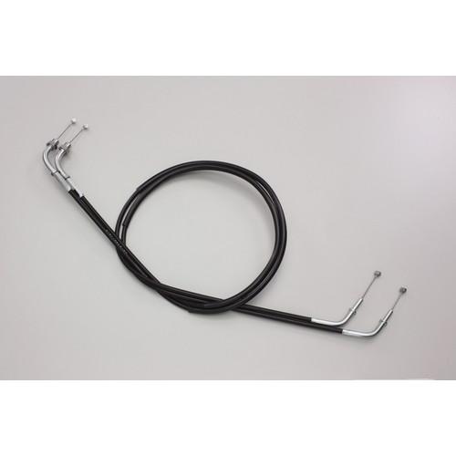 HB6726-10 ロング スロットルケーブル W ブラック