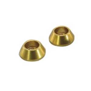 HN1108G M8アクセント ワッシャ ゴールドアルマイト