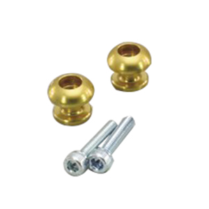 HN1201G M6アクセント フック ゴールドアルマイト