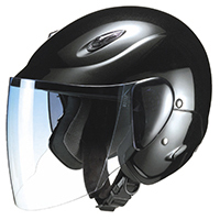 セミジェットヘルメット M-510 フリー ブラックメタリック