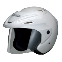 ジェットヘルメット M-380 フリー パールホワイト