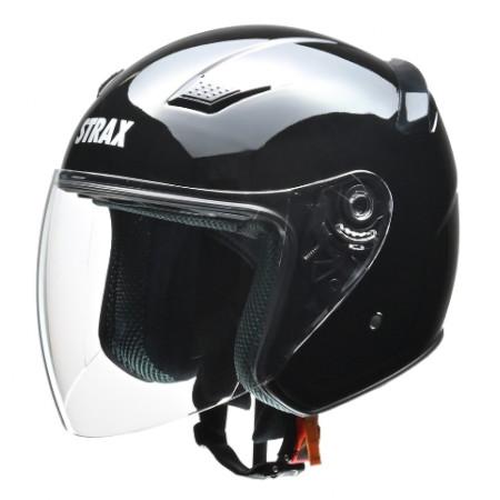 SJ-8 ジェットヘルメット ブラック M