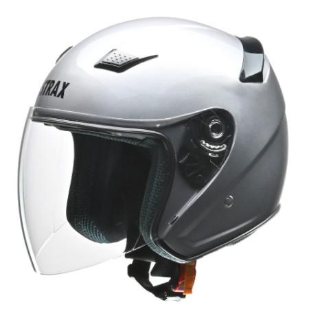 SJ-8 ジェットヘルメット シルバー M