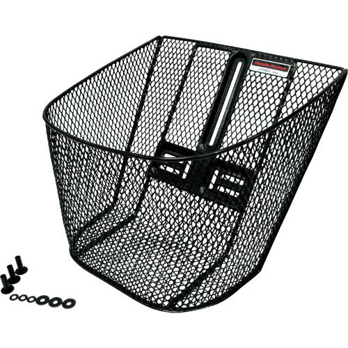 【純正部品】高品質フロントバスケット(黒)