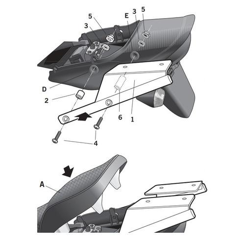 トップマスターフィッティングキット ZRX1200(01-08)