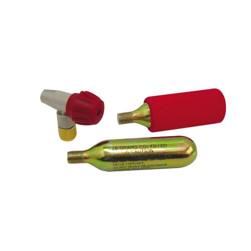 302-320 エアーボンベSET ジョイント&ガスボンベ2本 携帯用