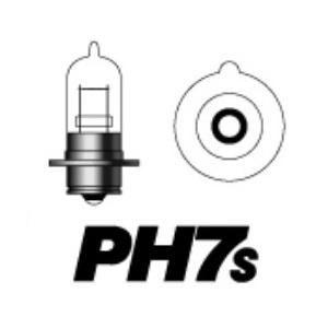 PH7s 6V15W P15S25-1 (クリア)