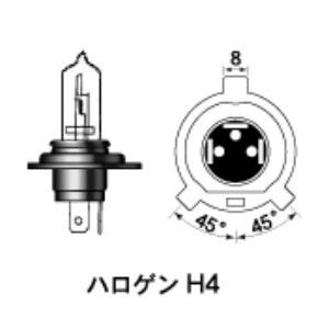H4 12v60/55w P43T-38 GL(B2ゴールド)