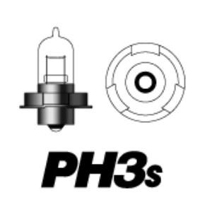 PH3s 6v15w P26S C(クリア)