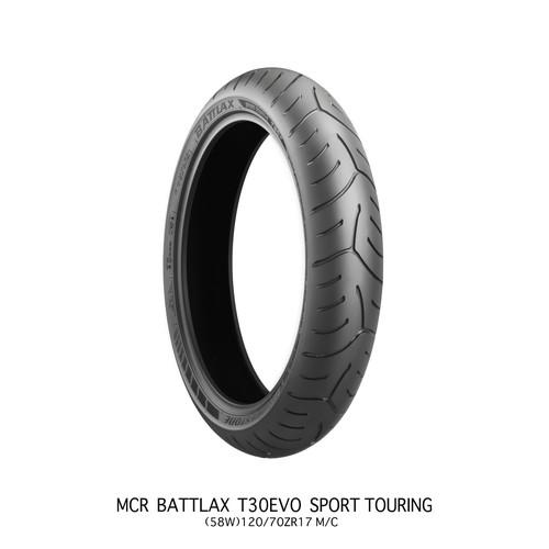 BATTLAX SPORT TOURING T30 EVO T30FZ 120/70ZR17 M/C(58W) TL