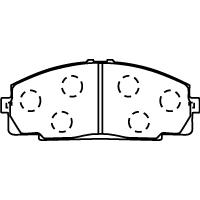 MD048 ブレーキパッド