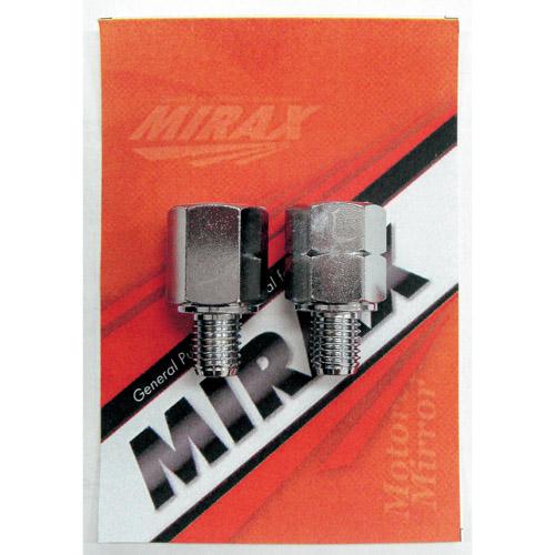 ミラックス107 ネジ径変換アダプター メッキ