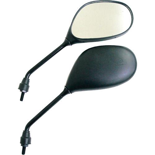 ヤマハ用 楕円ミラー(左右セット)
