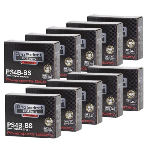 【ケース売り】PS4B-BS (YT4B-BS、GT4B-5 互換)(液入充電済)
