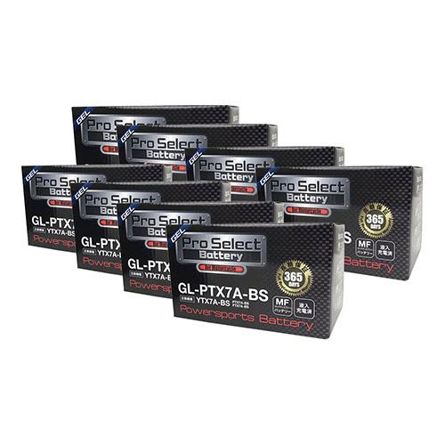 【ケース売り】GL-PTX7A-BS (YTX7A-BS 互換)(ジェルタイプ 液入充電済)