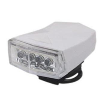 【1個売り】自転車用LEDヘッドライト ホワイト