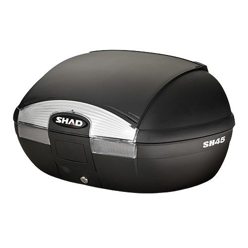 SH45 トップケース 無塗装ブラック