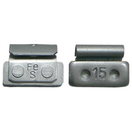 鉄製打ち込みウエイト スチールホイール用 15g