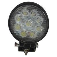 LEDワークライト 作業灯投光器 丸型 27W