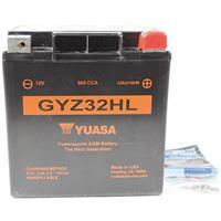 USAユアサ GYZ32HL AGMバッテリー (66010-97A 互換)