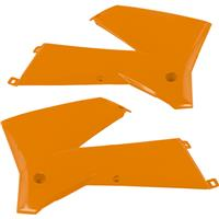 RACETECH CVKTMAR0005 シュラウド オレンジ SX125/250