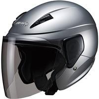 セミジェットヘルメット M-520 XL シルバー