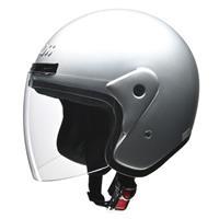 CROSS CR-720 ジェットヘルメット シルバー